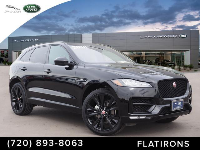 Certified Pre-Owned 2018 Jaguar F-PACE 25t R-Sport AWD