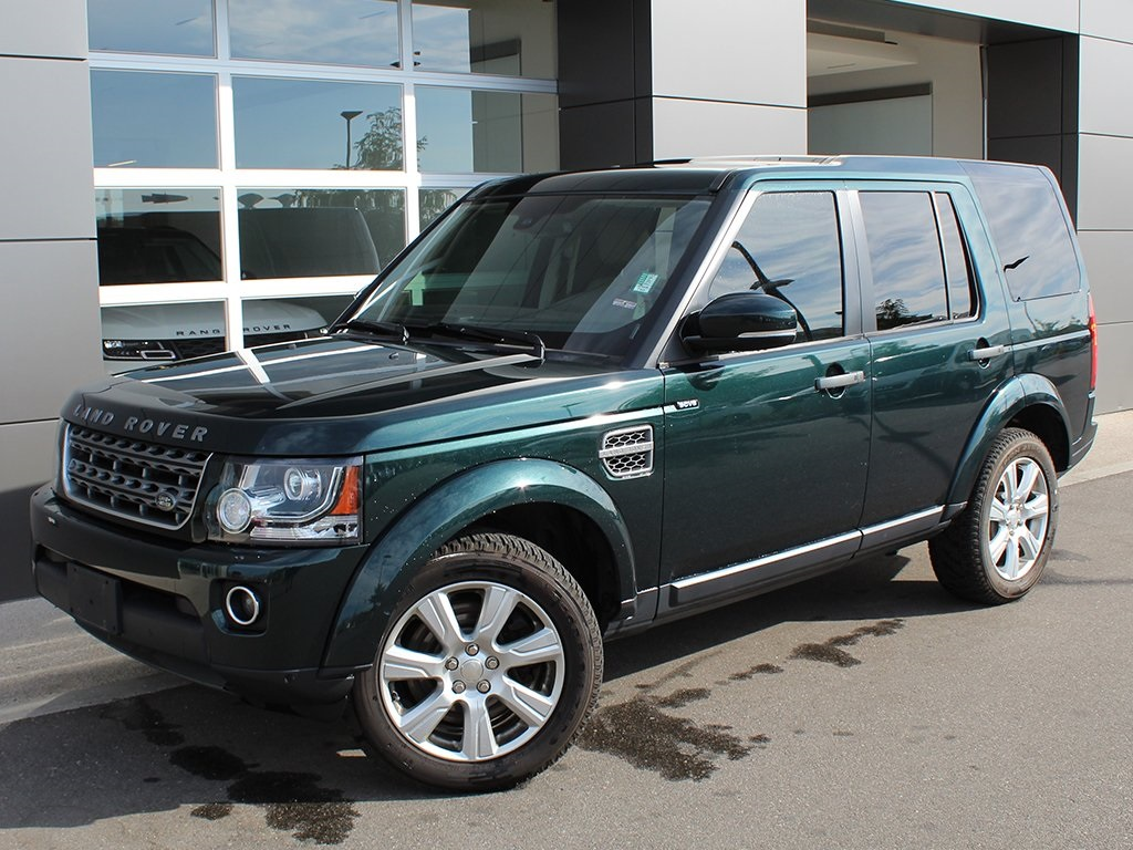 Pre-Owned 2014 Land Rover LR4 HSE