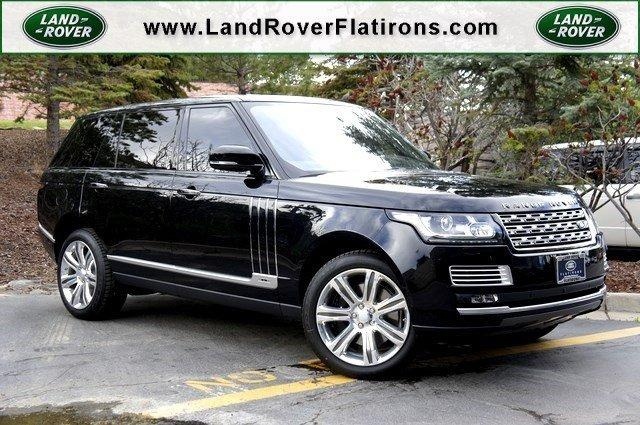Land Rover Range Rover >> New 2017 Land Rover Range Rover V8 Supercharged Sv Autobiography