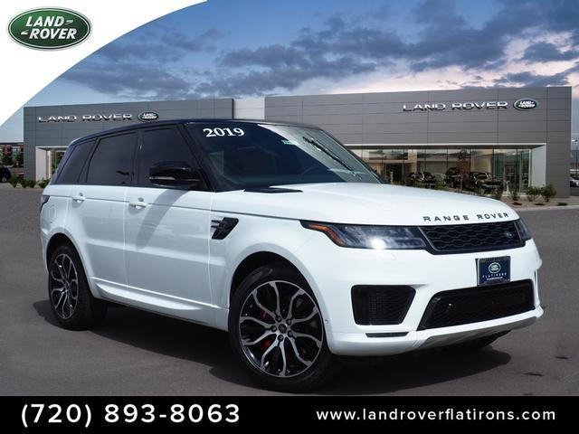 New 2019 Land Rover Range Rover Sport V8 Supercharged Dynamic With  Navigation & 4WD