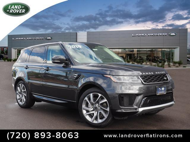 New 2019 Land Rover Range Rover Sport Turbo i6 MHEV HSE